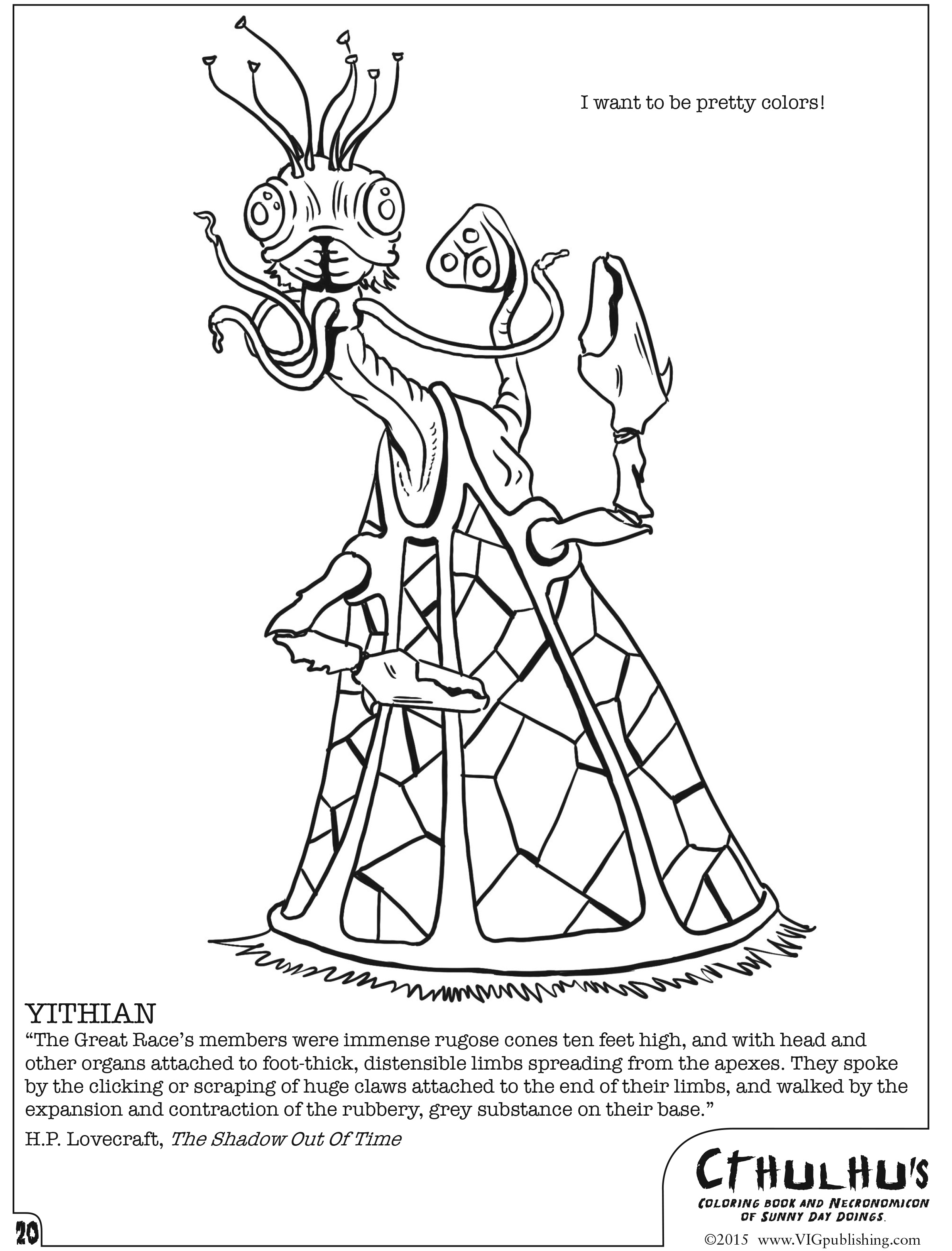 Cthulhu\'s Coloring Book and ... [Review]
