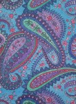 Colored page from Paisley Designs Coloring Book